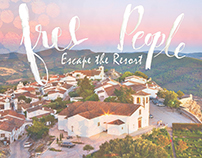 Free People white space project: Escape the Resort