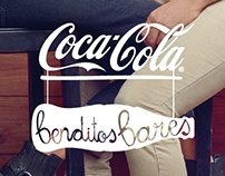 "Coca-Cola grafismos ""Benditos Bares"", 2013"