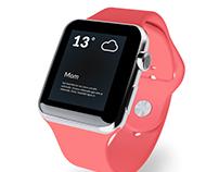 Work in Progress - Apple Watch Weather Notification