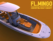 FL.Mingo Convertible Fishing Boat Concept