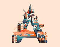 Wanderlust Alphabet – A-E