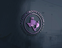 Latin Groove Culture Logo Design Concept with Mockup Ef