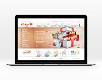Migros HediyemKart - eCommerce Design