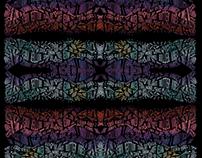 Gooey Typographic Poster