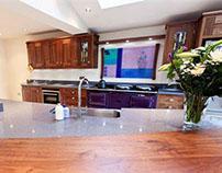 Moir Wade Design Ltd - Kitchen Feature Panel