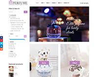 Perfume Store - Joomla eCommerce template