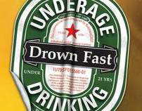 Drown Fast: Alcohol Awareness