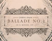 Ballade No. 1