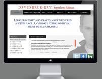 David Baur-Ray's e-Resume website