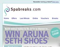 Spabreaks.com - e-Newsletter