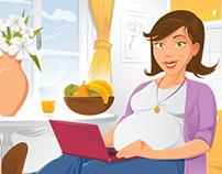 Bio Save / VITA 34 - brochure illustration
