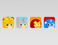 Avengers app icon