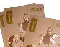 Cover Illustration for El Duende Magazine