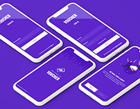 Send Voucher Online || App Concept Design
