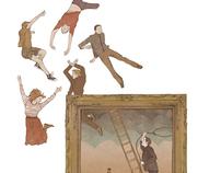 Illustration for Popshot Magazine