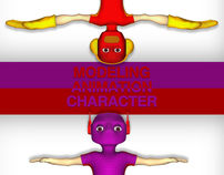 modeling animation character