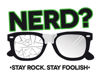 """NERD?"" Logo"