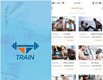 TRAIN- Mobile App For Connecting Trainers and Customers
