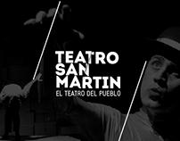 Teatro San Martín - Sistema de Identidad