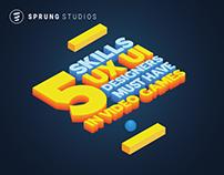 5 Skills UX/UI Designers Must Have In Video Games