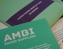 'Ambi Paper Supplies' Paper Promo