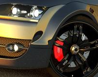Audi TT A5 - 3D Design