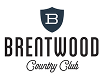 Brentwood Country Club visual identity and rebrand