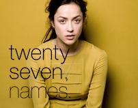 TWENTY SEVEN NAMES