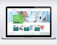 Vitaclinic / webdesign