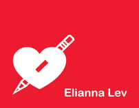Elianna Lev Logo and Business Cards