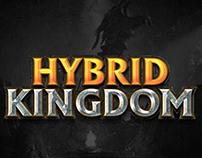 HYBRID KINGDOM GAME LOGO
