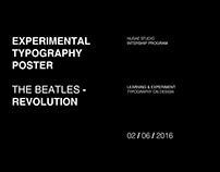 THE BEATLES - REVOLUTION POSTER