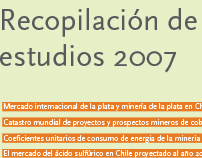 Chilean Copper Corporation Studies Report 2007