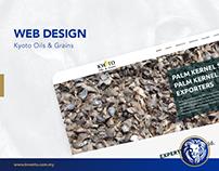 Web Design - Kyoto Oils & Grains