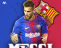 Messi + download psd file