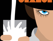 A Clockwork Orange Movie Poster (Redo)