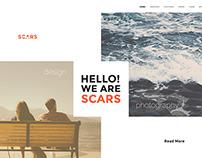 Scars - WEB Template
