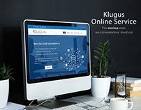 Klugus Online Mockup