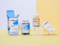 Wellcaps® - suplement branding | packaging | photo