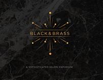 Black & Brass Branding