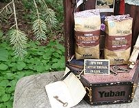 Coffee bags and display