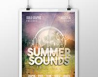 Summer Sounds Festival Flyer