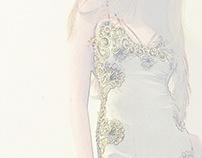 Spanish Moss: Handmade Bias Gown