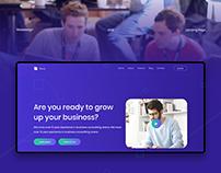 Gaus - Creative Parallax Website