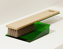 Plywood Dustpan
