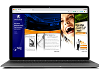 Website UX, Motion, Design - Peugeot