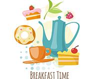 Coffee & Breakfast designs