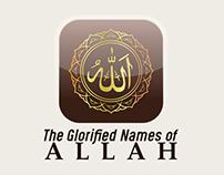 The glorified names of Allah   App