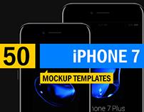 50+ iPhone 7 Mockup Templates