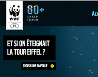 WWF: Earthhour / Eiffel Tower